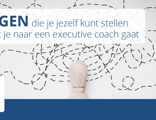 10 Executive coach vragen die je jezelf kunt stellen