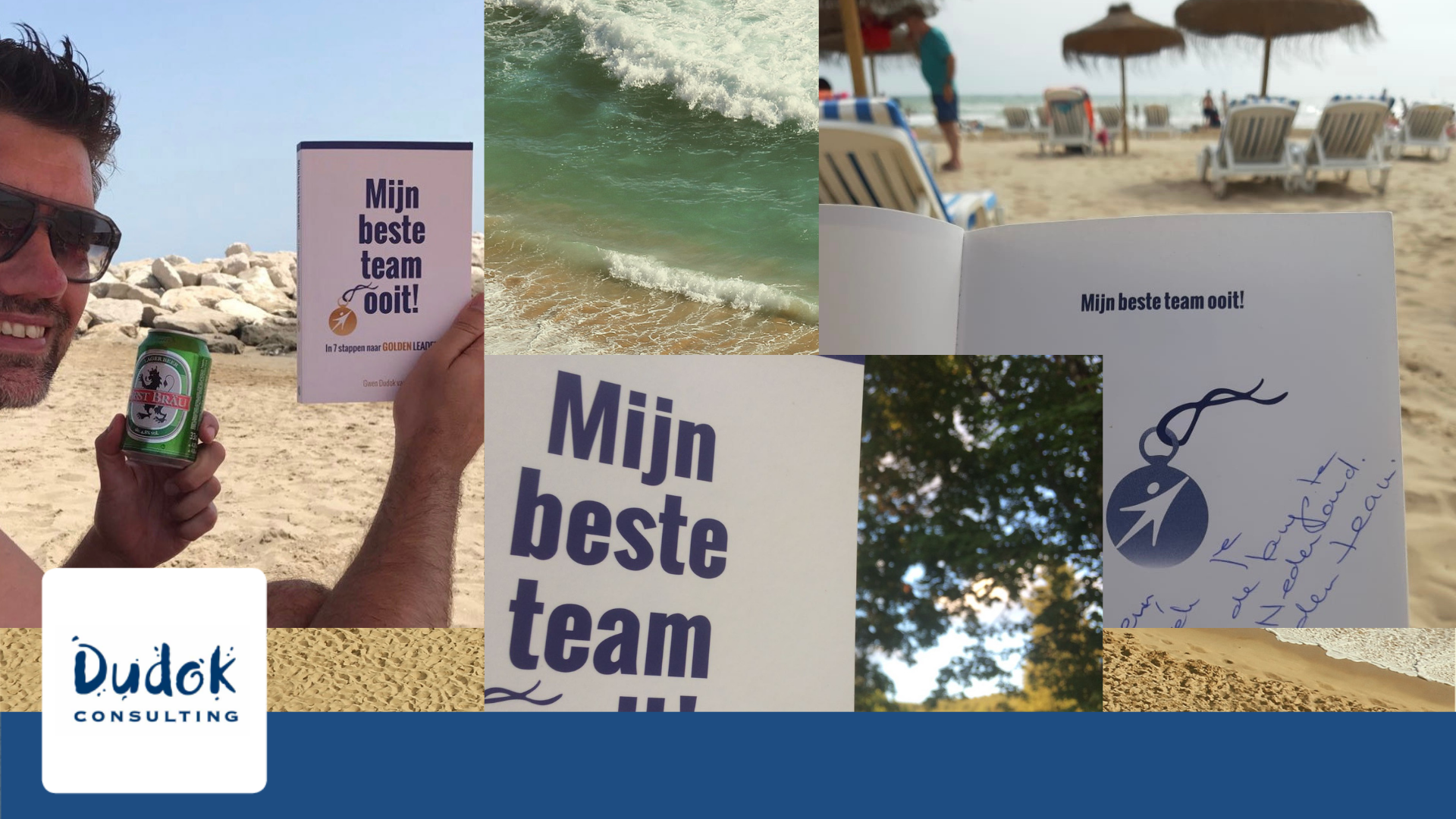 MijnBeste Team Ooit! met vakantie