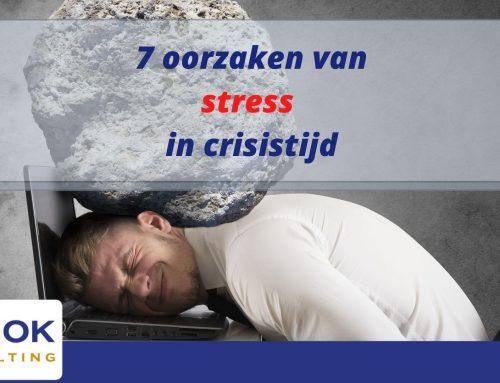 7 Oorzaken van stress in crisistijd