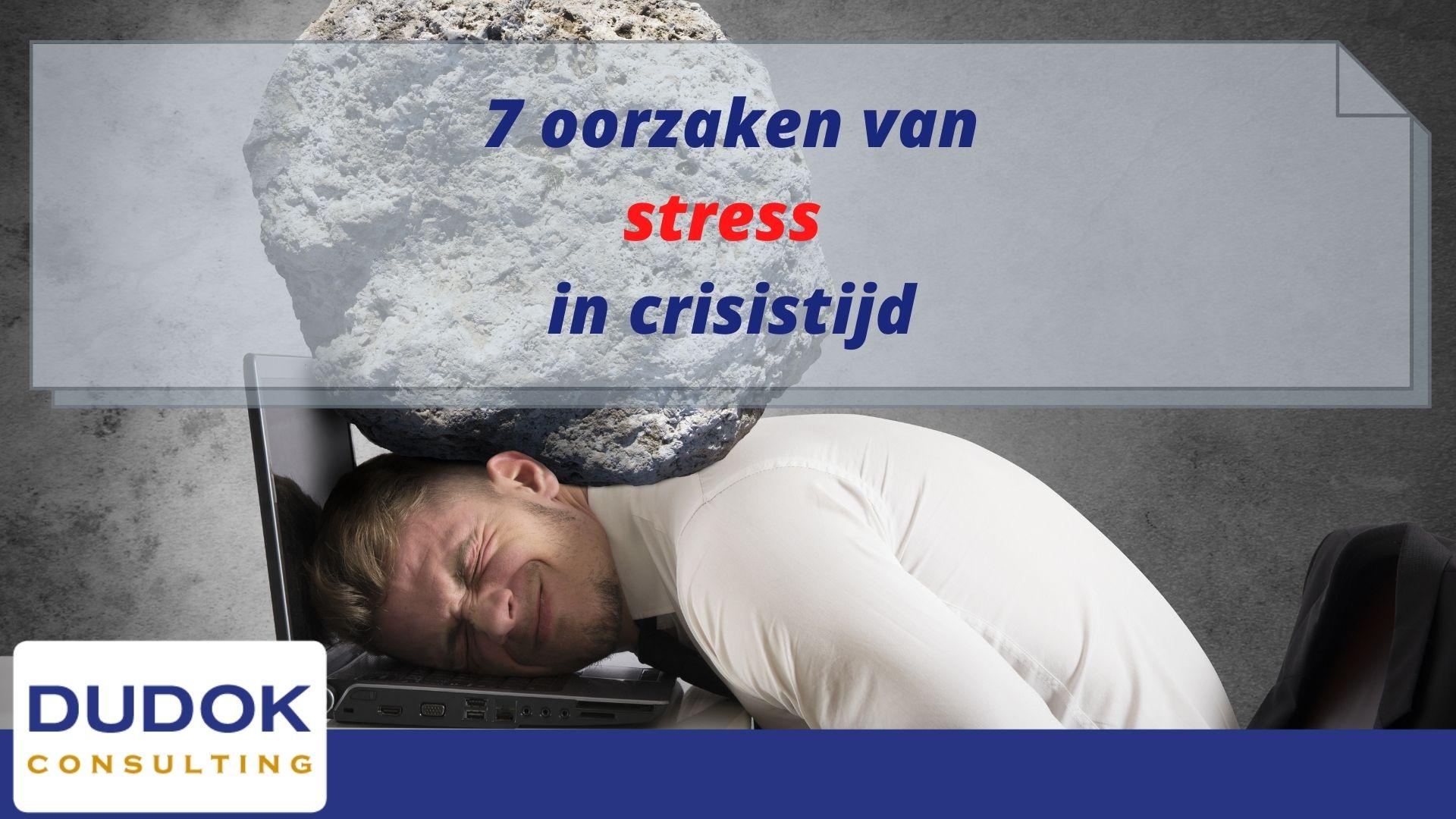 7 Oorzaken van stress